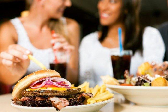 Alimentos poco saludables