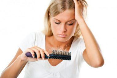 Alopecia nerviosa