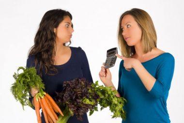 Cálculo del consumo de calorías necesarias