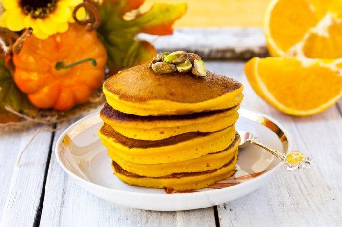 Dieta Dukan Menú Entrante Tortitas de calabaza y canela