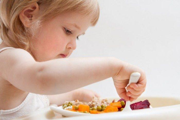Nutrición infantil saludable
