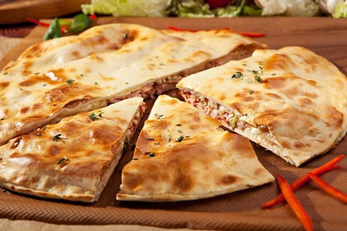 Receta Dukan Pizza rellena