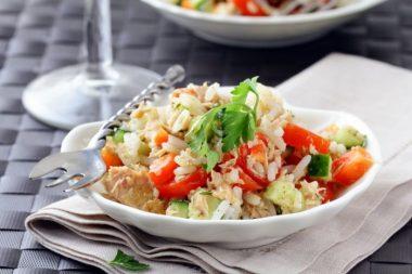 Recetas con arroz saludables