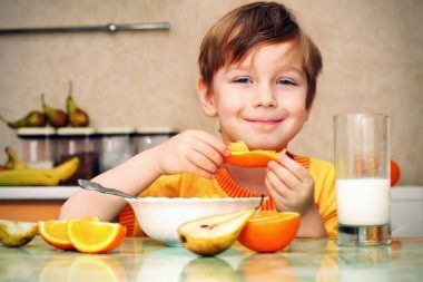 Consejos nutricionales TDAH