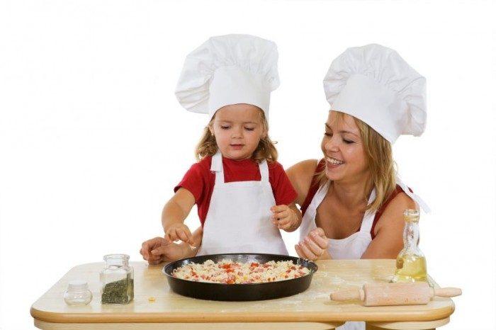 Receta Pizza con la cara de papá