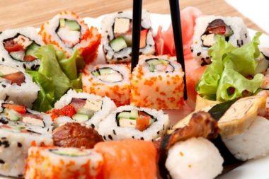 Riesgos del sushi