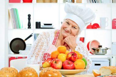 Nutrición saludable ancianos