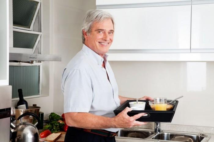 Nutrición saludable adultos mayores