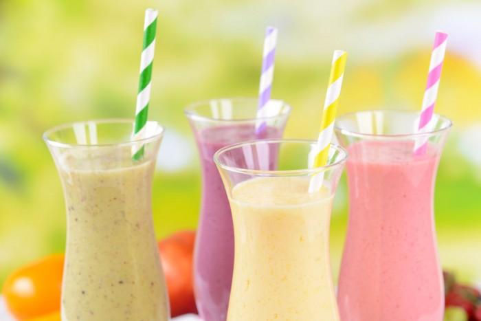 Receta Copa de helado con yogurt de mango y fresa