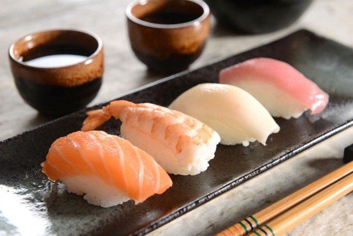Sushi fácil California Rolls