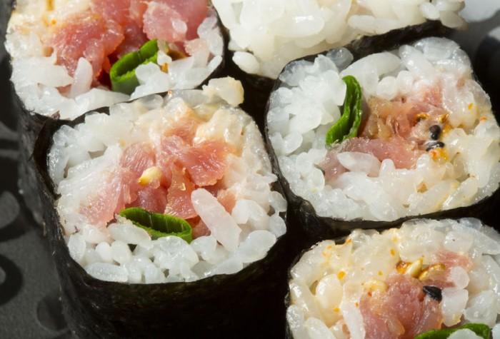 Sushi fácil Makis de atún