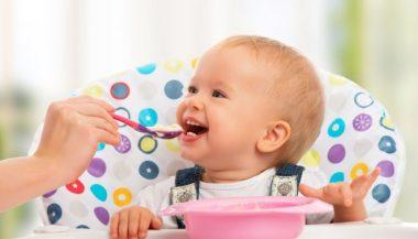Alimentación sana bebés