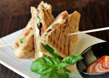 Recetas sándwiches saludables