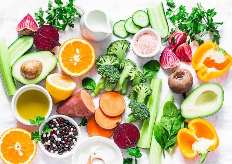 Dieta vegetariana vitamina